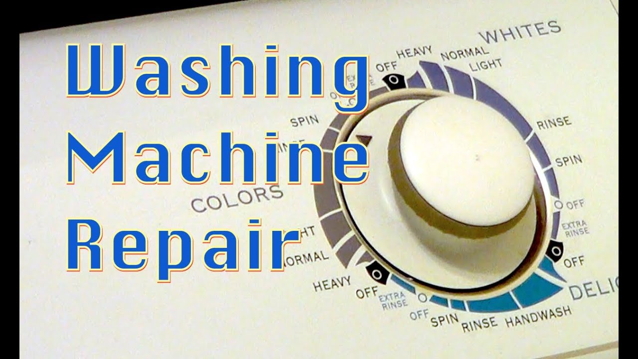 How To Repair A Washing Machine Maytag Appliance Mah4000aww Wiring Information Series 45