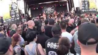 """AGNOSTIC FRONT - PUNK ROCK BOWLING 5/25/2015 - LAS VEGAS NV. """"VULTURE VIDEO"""""""