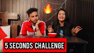 5 SECONDS CHALLENGE- KIRTI MEHRA feat Elvish Yadav