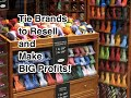 Tie Brands to Resell and make BIG Profits- Thrift Stores to eBay