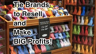 Video Tie Brands to Resell and make BIG Profits- Thrift Stores to eBay download MP3, 3GP, MP4, WEBM, AVI, FLV Juli 2018
