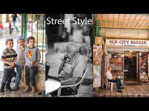 Photographing Street Markets in Jerusalem, Israel Trip, Vlog #1