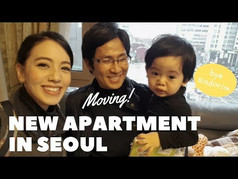 Moving to our new apartment in Seoul🇰🇷서울의 새로운 아파트로 이사가기🇰🇷ソウルの新しいアパートに引っ越し