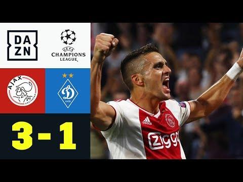 Ajax ballert sich gen Königsklasse: Ajax Amsterdam - Dynamo Kiew 3:1 | CL-Quali | Highlights | DAZN