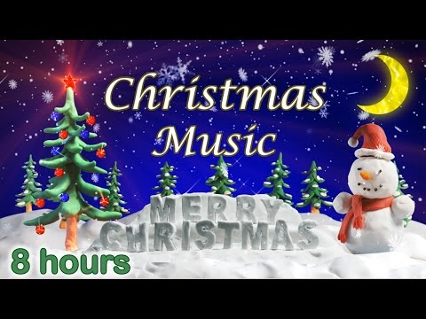 ☆ 8 HOURS ☆ CHRISTMAS MUSIC Instrumental ♫ CHRISTMAS CAROLS
