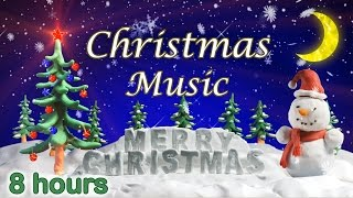 ✰ 8 HOURS ✰ CHRISTMAS MUSIC Playlist ✰ Christmas Songs ✰ Instrumental Medley ✰ Xmas Carols