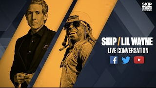 skip bayless interviews lil wayne streamed live on 42117 undisputed