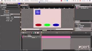 Controlar la línea de tiempo de un símbolo en Edge Animate