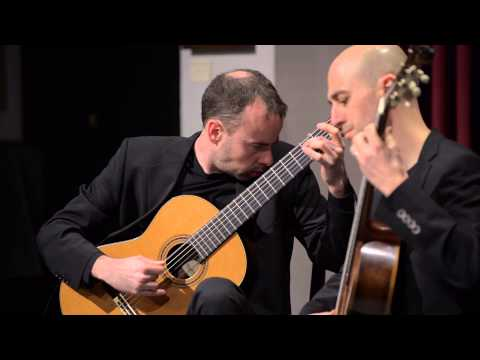SoloDuo performs Prelude and Fugue in C-sharp minor by Castelnuovo-Tedesco