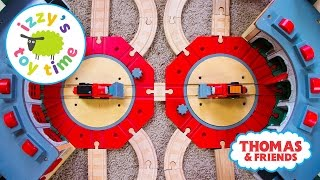 Thomas and Friends DOUBLES TRACK! Thomas Train Pretend Play with Brio   Toy Trains for Kids
