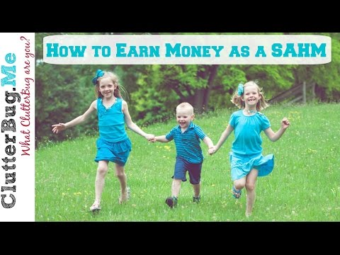 $$$ How to Make Money as a Stay-at-Home Mom $$$