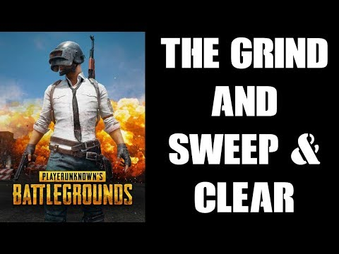 How To Win Solo PUBG Chicken Dinners: The GRIND & SWEEP And CLEAR (PS4 Gameplay)