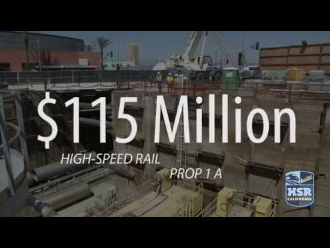 LA Metro's Regional Connector Project and High-Speed Rail