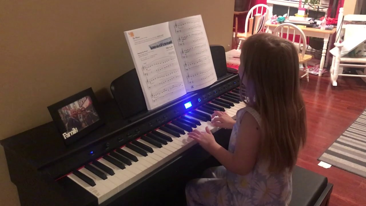 Audrey Playing Ode to Joy!