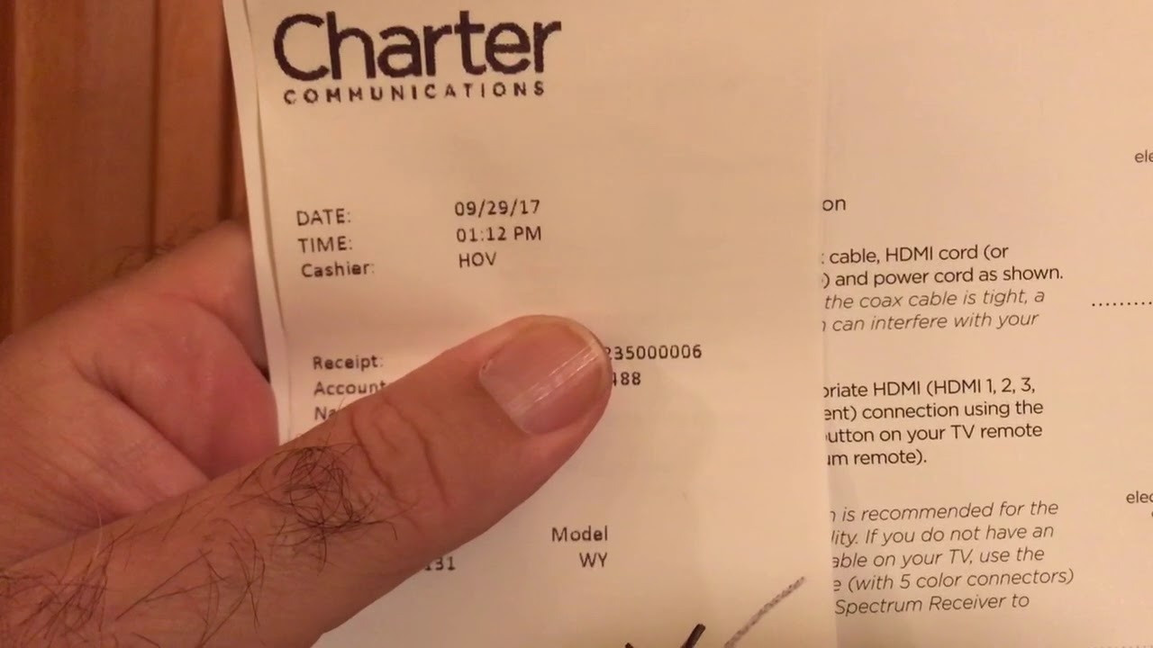 How to activate Charter Cable digital tv box