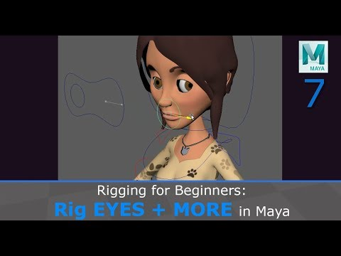 Rigging For Beginners: Eyes And More In Maya