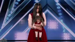 America's Got Talent 2018 The Sacred Riana Freaky Magic Full Audition S13E01