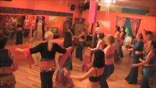 Bellyup Kitchener Bellydance Class.wmv