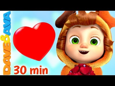 💕 Skidamarink   Best Nursery Rhymes And Kids Songs   Dave And Ava 💕