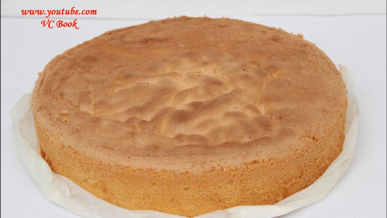 Как сделать корж для бисквита 30