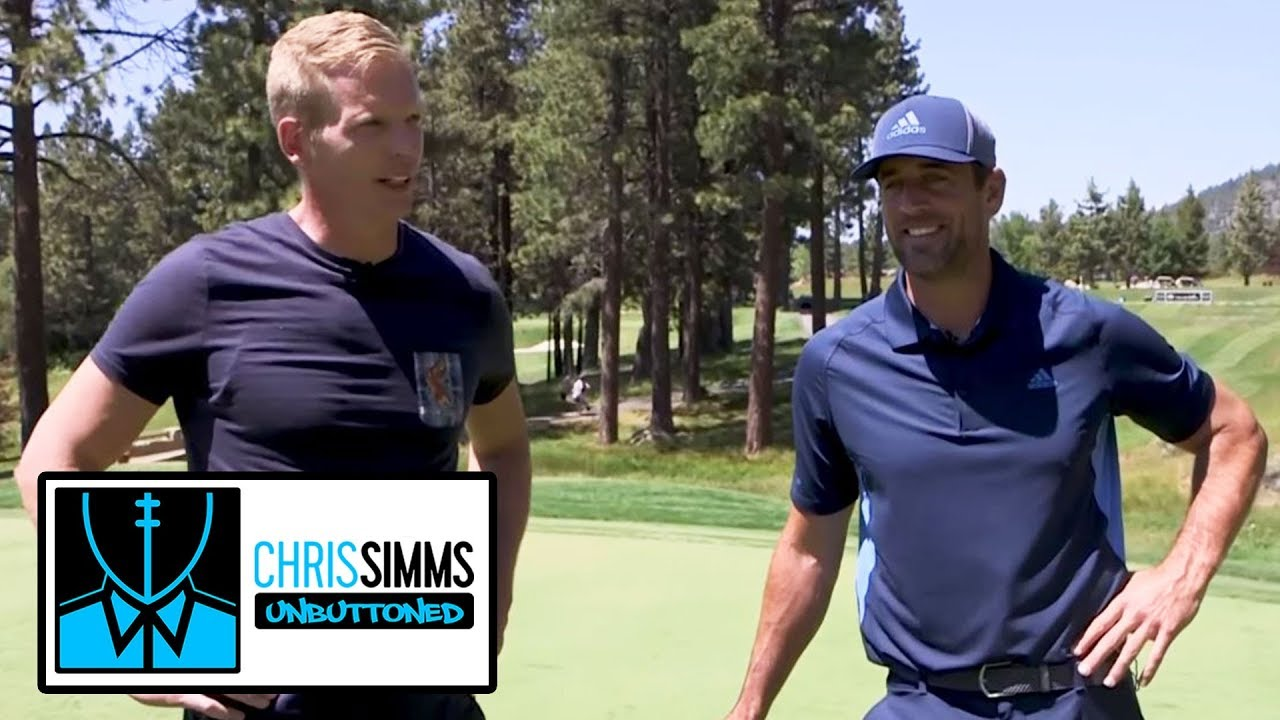 Aaron Rodgers traces evolution of his throw | Chris Simms Unbuttoned | NBC Sports