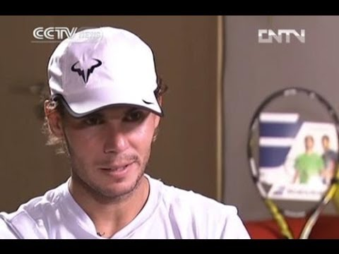 Nadal talks about his come-back