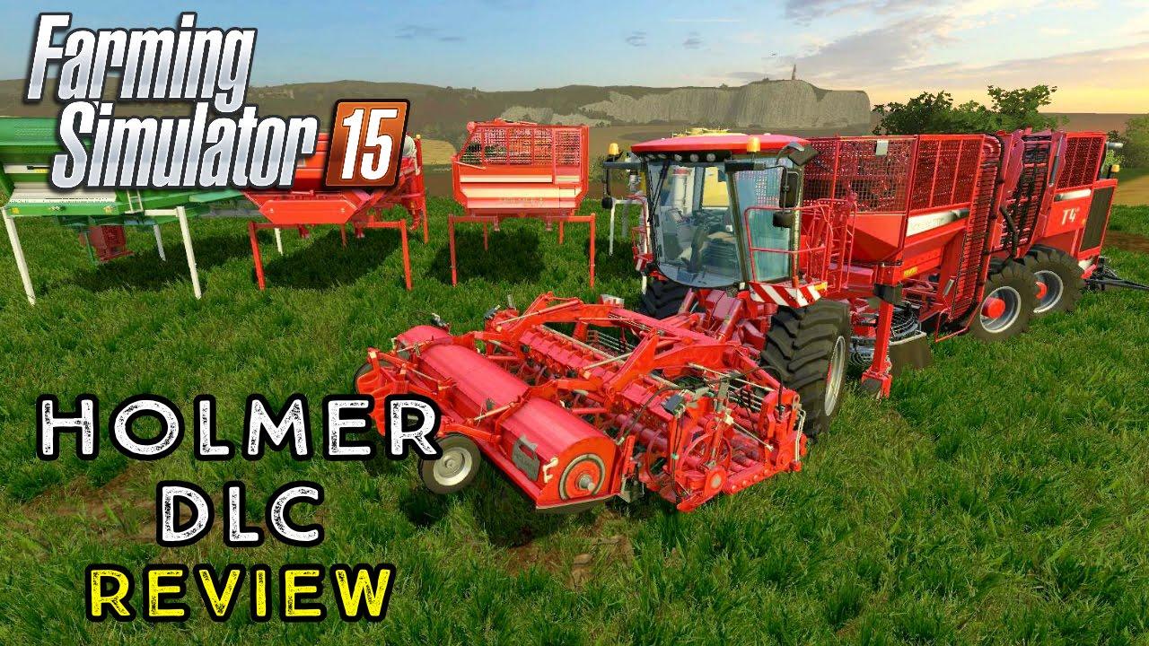 Farming Simulator 2015 | HOLMER DLC REVIEW