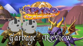 Spyro 3 Year Of The Dragon A Garbage Review