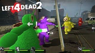 La invasión de los teletubbies -- Left 4 Dead 2 -- JULINWORLD 15