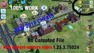 Cara Cheat SimCity BuildIt No Corrupt File 2018 100% WORK