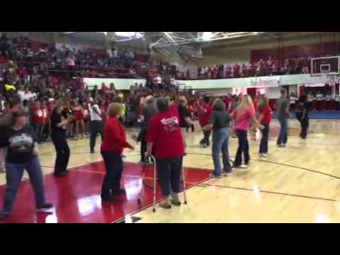 Lawton High School Wolverine Faculty Flash Mob