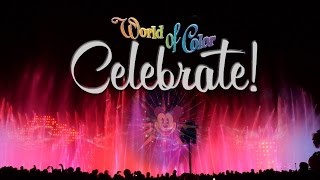 4K World of Color Celebrate ! Ultimate Wide Angle Ver. Disneyland Diamond Celebration !