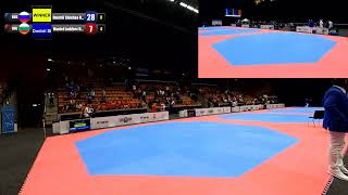 WTE Under 21 Championships - Helsingborg 2019 - Court 1