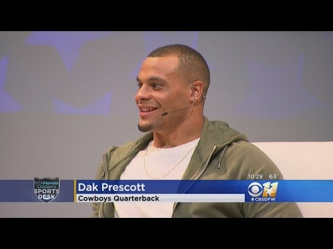 Dak Prescott Talks Of Toughest Critic... Mom