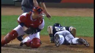 MLB Falling Down Swinging