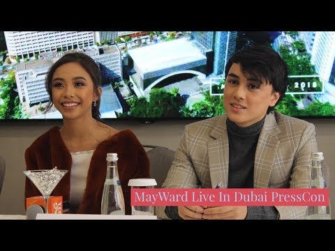 Video from the MayWard Live In Dubai Press Conference