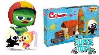 CALIMERO FIREPLACE, Costruzioni per bambini, UNICOPLUS il comodo salotto si Calimero con il camino!