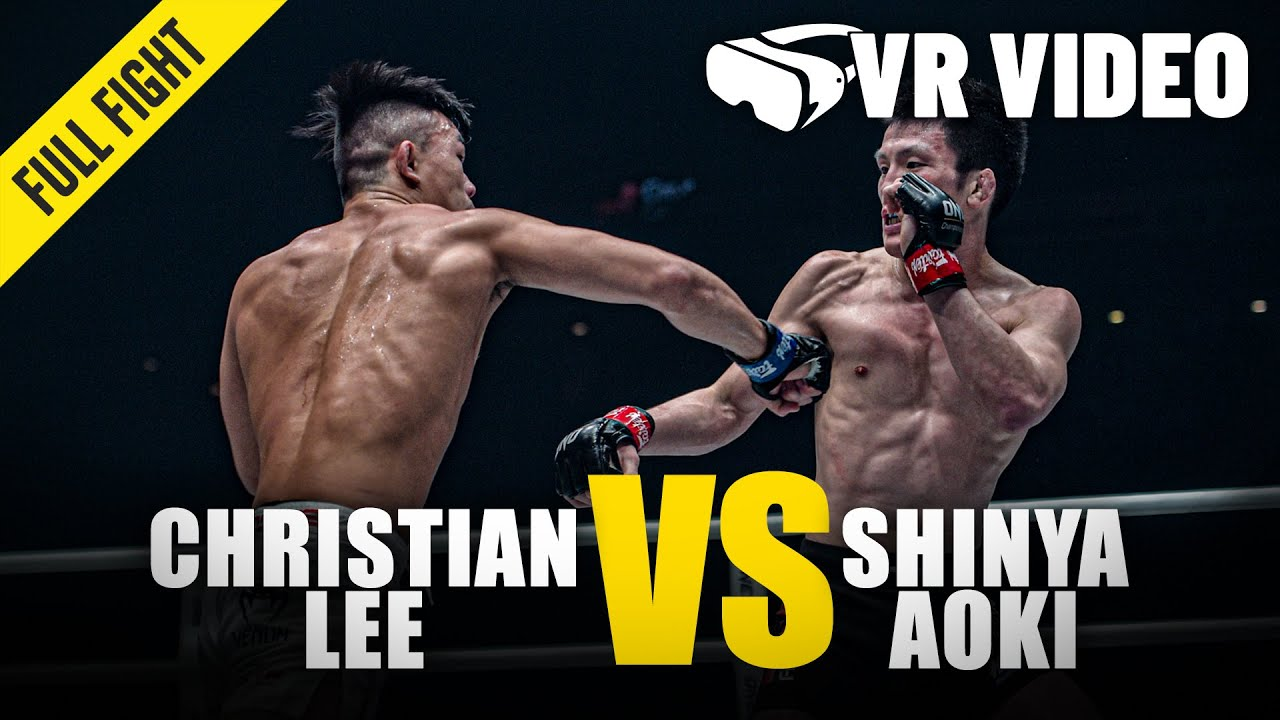 Christian Lee vs. Shinya Aoki | ONE Championship VR Fight