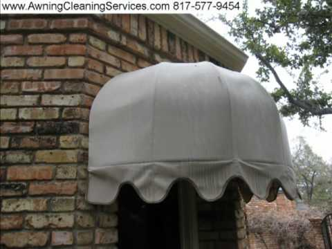 Cleaning Canvas Awnings To Remove Mold Mildew Amp Dirt