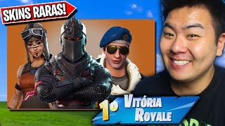 THE TRIO WITH THE RAREST SKINS OF THE FORTNITE!! * Never go back to the store! *-Fortnite Battle Royale
