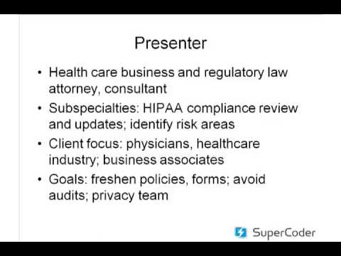 PHI Online/Electronic Resource Conference | HIPAA Liability Update