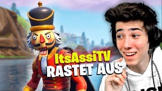 ItsAssiTV RASTET AUS in Fortnite + Epischer Sieg!