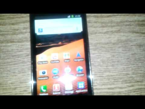 Samsung Galaxy S i9003 SCL videoreview