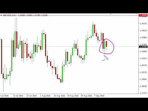 GBP/USD Technical Analysis for September 16 2016 by FXEmpire.com