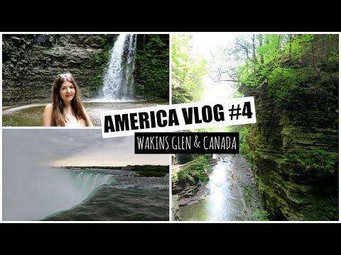 America Vlog #4 - Watkins Glen & Canada   Lizzie Gines