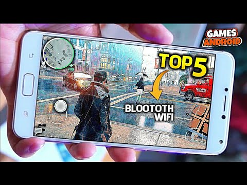 ■ TOP 5   MELHORES JOGOS MULTIPLAYER VIA (BLUETOOTH Wi-FI LOCAL) ANDROID - GAMES ANDROID