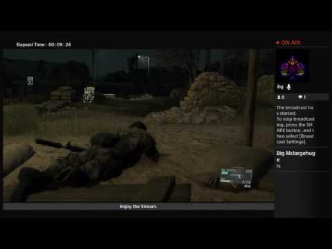 Metal Gear Solid V: The Phantom Pain - Dang Near Best Game Ever - Magic's Live Broadcast