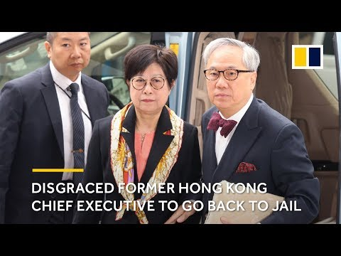 Hong Kong's High Court rejects appeal of former chief executive Donald Tsang