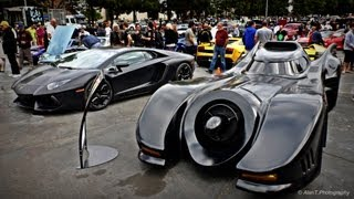 Batmobile & Lamborghini Aventador! Jeff Dunham's Batmobile Batman Returns Detail Tour