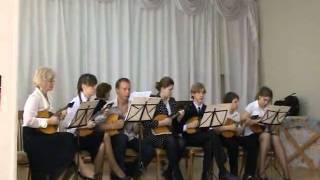 В Косма Поппури на музыкальные темы из французских кинофильмов